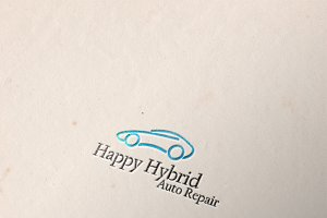 Auto Repair Logo Template