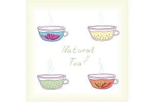 Natural tea.