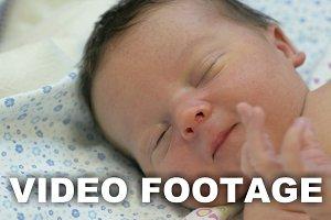 Newborn Baby Awaking from the Dream