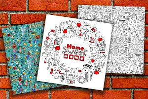 Hand drawn Home Collection