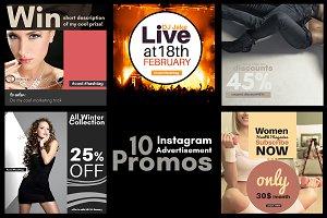 10 Instagram Advertisement Promos 3