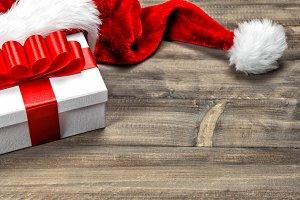 Christmas decoration. Gift box
