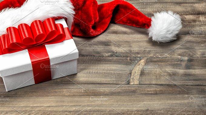 Christmas decoration. Gift box - Holidays
