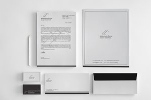 Minimalist Stationery Template