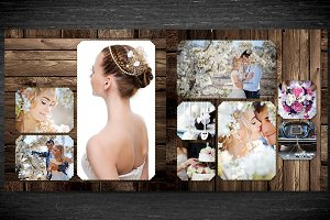 4x Photobook Templates Bundle
