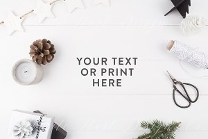 Styled stock photography - Christmas