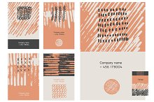 Collection business cards