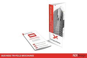 Business Tri-fold Brochures -SK