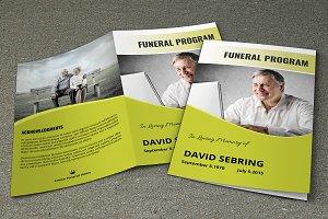 Funeral Program Template-V301