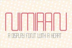 Nimiran Typeface