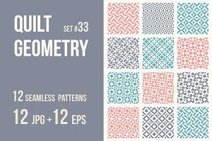 Quilt Geometry #33
