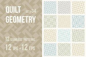 Quilt Geometry #34