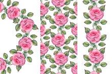 Roses. Set