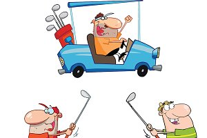 Happy Golfers Collection