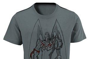 Warrior T Shirt For Men