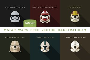 Star Wars Free Vector Illustration
