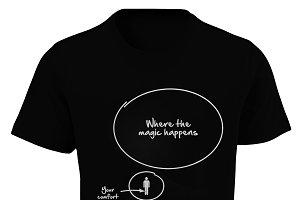 Comfort Zone T-Shirt Design
