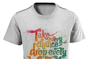 Splash T-Shirt Design