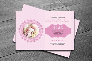 Newborn Mini Sessions Template-V140