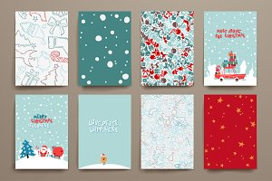Merry Christmas Card Templates