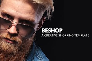 BeShop Shop Ecommerce Site Template