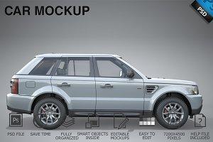 Car Mockup 05