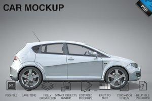 Car Mockup 06