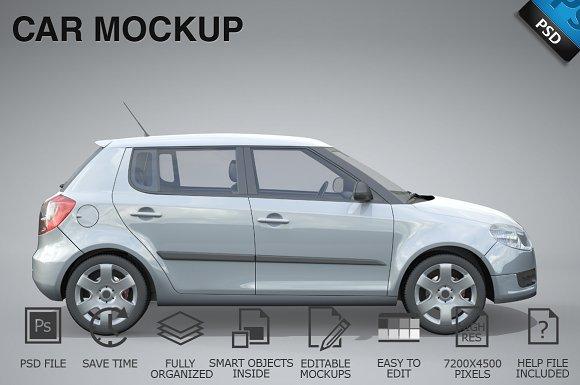 Download Car Mockup 07
