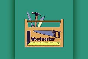 Carpentry tool label
