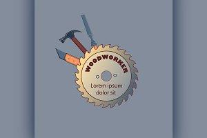 Carpentry tool labels