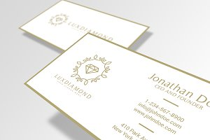 LuxDiamond Business Card