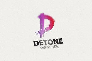 Detone D Letter Logo