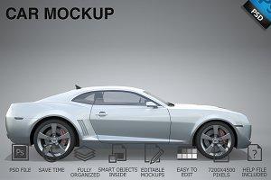 Car Mockup 09