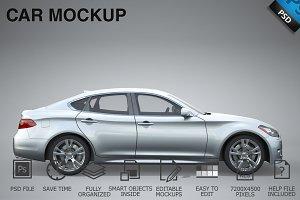 Car Mockup 10