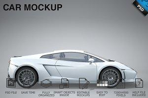 Car Mockup 11