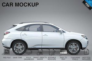 Car Mockup 12