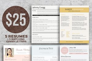 Resume Bundle - Get Noticed!