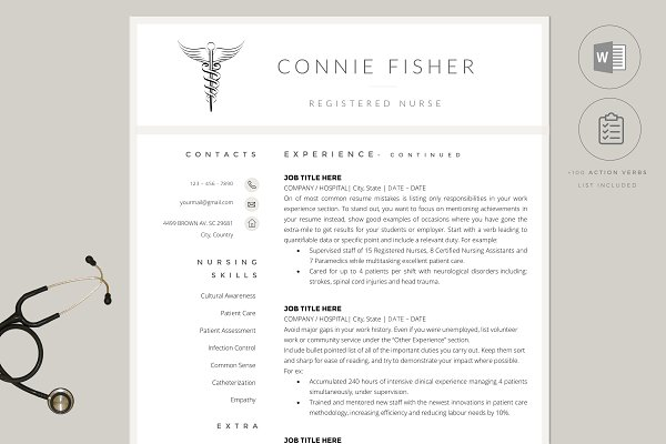 Cs Resume Template from images.creativemarket.com