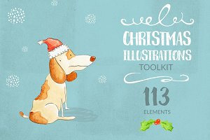 Christmas Illustrations toolkit