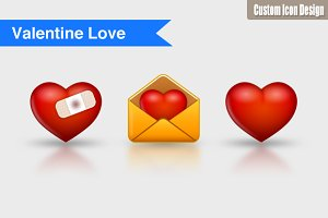 Valentine's Day Icons (20 icons)