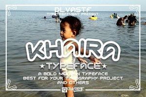 KHAIRA Typeface