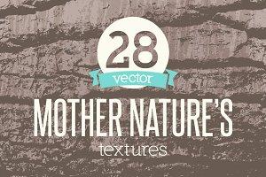 Vector Textures Mother Nature Vol 1