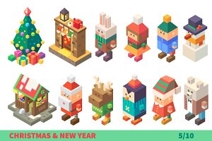 Xmas Characters and Items.