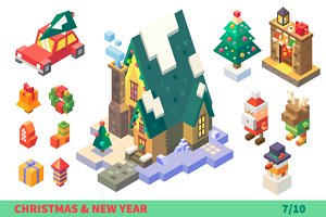 Christmas Characters and Items.