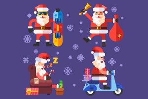 Funny'n'Cool Santas!