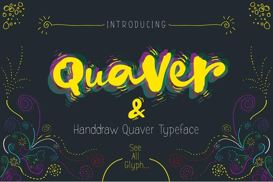Quaver Hand Lettering