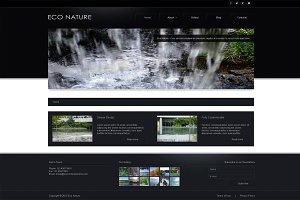 Eco Nature - Business Joomla Theme
