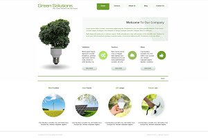 Green Solutions - Joomla Theme