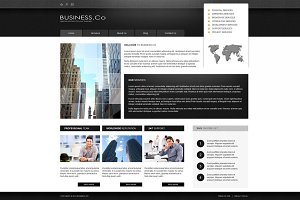 Business Co - Joomla Theme