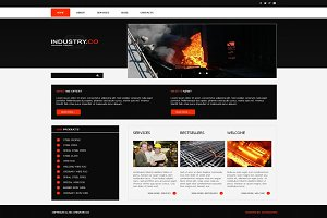 Industry.Co - Joomla Theme